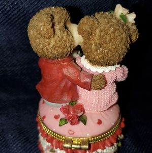 Other - Vintage Valentines Day Wedding Engagement Ring Box